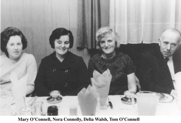 Mary O'Connell, Nora Connolly, Delia Walsh and Tom O'Connell