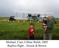 Michael, Cian and Cillian Walsh