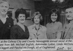 Press cutting 1991. Group Photograph