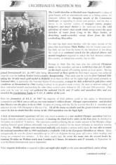 Oughterard Newsletter. Mick Molloy, Oughterard's marathon man