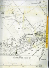Map 1898. Detail Canrawer West