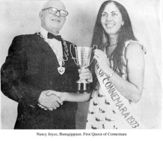 Nancy Joyce, Bunagippaun. First Queen of Connemara
