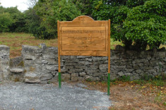 Oughterard Poor law Union workhouse Signage