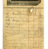 Shop receipt c.1910