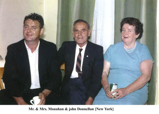 John Donnellan with Mr. and Mrs. Monahan