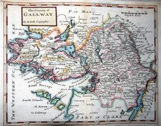 Moll's map of Galway 1728