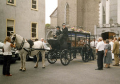Funeral of Sean Conneely
