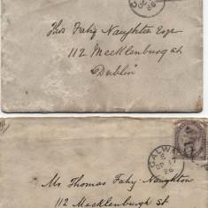 Correspondance, 1881-1886 relating to Thomas Fahy Naughton