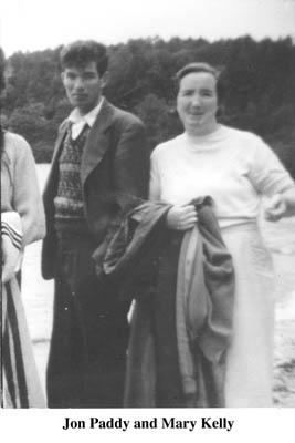 John Paddy and Mary Kelly