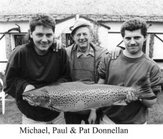 Michael, Paul and Pat Donnellan