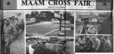 Press cutting. Maam Cross Fair