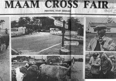 Press cutting. Maam Cross Fair