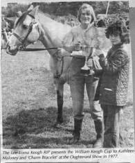 Press cutting 1977. Kathleen Maloney and Lorna Keogh