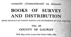 Books of Survey and Distribution 1636-1703