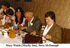 Mary Walsh, Mayfly Inn and Nora McDonagh