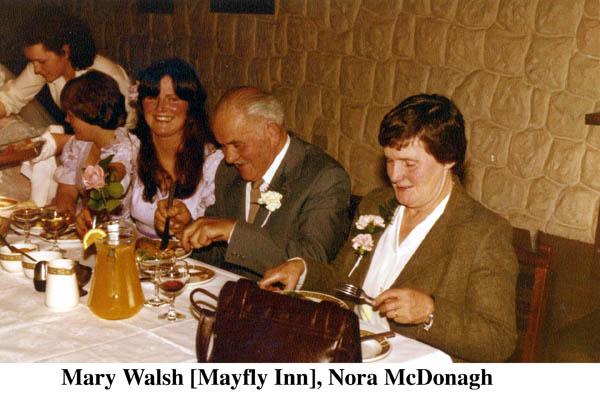 Mary Walsh, Mayfly Inn and Nora McDonagh