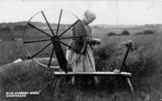 Irish Spinning Wheel