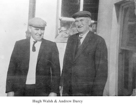 Hugh Walsh and Andrew Darcy