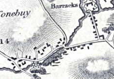 Map1898, section, The Barracks