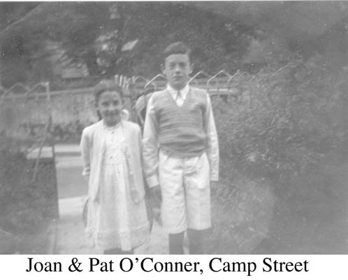 Joan and Pat O'Connor, Camp Street