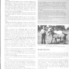 Oughterard Newsletter. Tribute to Kathleen Maloney