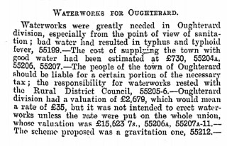 Waterworks in Oughterard | dippam.ac.uk