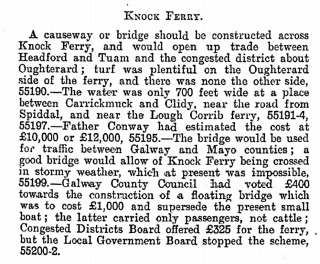 Knock Ferry | dippam.ac.uk