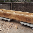 Lee's Island Log Boat Replica Launch