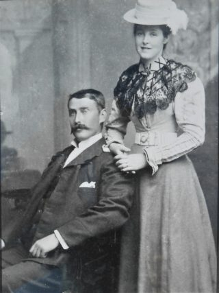 Thomas  Faherty & Mary Cunningham - Wedding Photo Many thanks to Damien Faherty Canada for this photo of his grandparents. Thomas was a brother to Patrick J (Oughterard) Michael G & John (Canada)