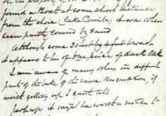 Dr Willis original letter