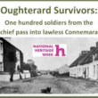Oughterard Survivors: One hundred soldiers from the chief pass into lawless Connemara