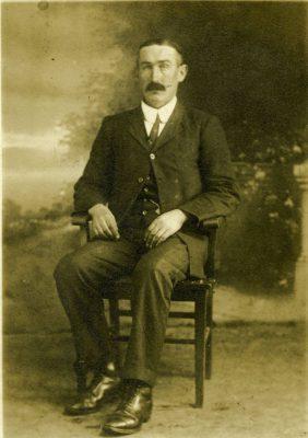 John Faherty 1875-1940   Taken in Calgary, Alberta Canada