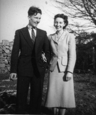 Brother & Sister Jim & Julia O'Connor  1954 | Padraig Faherty