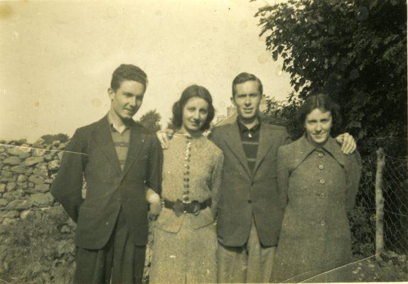 O'Connor Siblings taken 1937 Jim, Julia, Tom & Winifred | Padraig Faherty