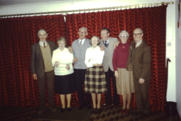 The O'Connor Siblings & Partners on the occasion of Ned & Winnies 50th Wedding Anniversary - L-R Johnny & Josie, Ned & Winnie, Jim, Peg & Tom