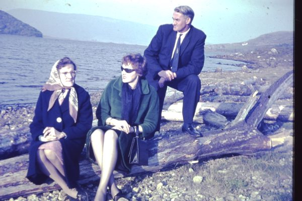 Ned & Winnie Faherty with Daughter Mary (early 1960s)