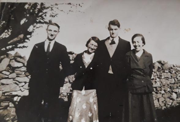 Richard Faherty Winnie Maloney, Ned & Winnie Faherty (Richard & Winnie M were bestman & bridesmaid for Ned & Winnie)