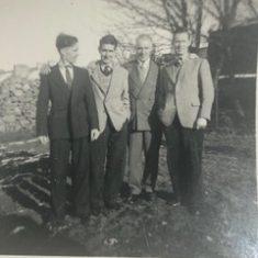 Jim, Johnny, Lal & Tom O'Connor 1954 | L O'Connor