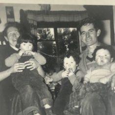 Josie & Johnny O'Connor with their children Bridie, Patti & Kevin | L O'Connor
