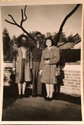 Gertrude, Patrick and Catherine in the 1940's | Mary Pleyo