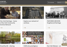 Oughterard Heritage Website is the featured archive in the iCAN section on the National Museum of Ireland website
