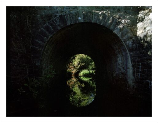 Hidden tunnel   Courtesy of Lorraine Tuck / collection of works made along the old Galway Clifden railway line