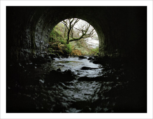 Railway Tunnel at Munga   Courtesy of Lorraine Tuck / collection of works made along the old Galway Clifden railway line
