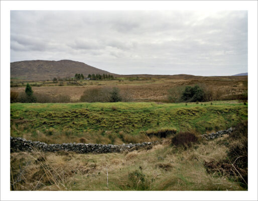 Railway embankment near Recess   Courtesy of Lorraine Tuck / collection of works made along the old Galway Clifden railway line