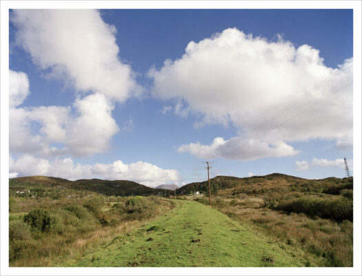 Railway line at Clifden   Courtesy of Lorraine Tuck / collection of works made along the old Galway Clifden railway line