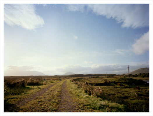 Railway line at Leim   Courtesy of Lorraine Tuck / collection of works made along the old Galway Clifden railway line