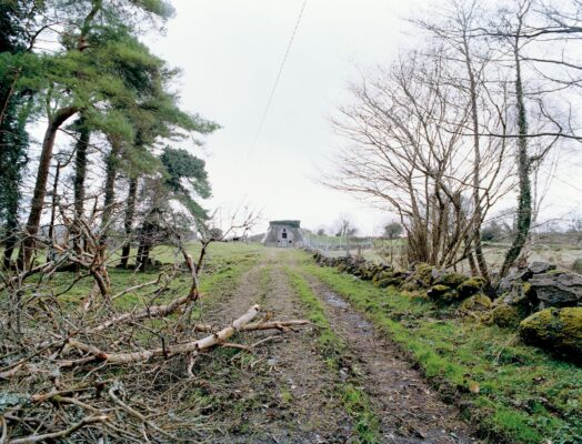 Railway line at Moycullen   Courtesy of Lorraine Tuck / collection of works made along the old Galway Clifden railway line