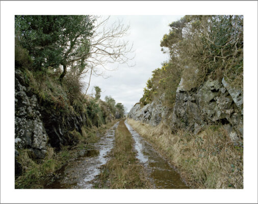 Railway line between Maam and Recess   Courtesy of Lorraine Tuck / collection of works made along the old Galway Clifden railway line