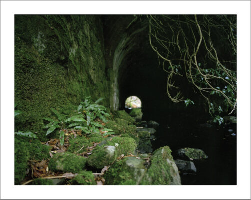 Railway tunnel   Courtesy of Lorraine Tuck / collection of works made along the old Galway Clifden railway line