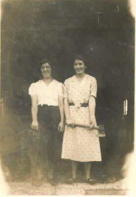 Kathleen & Marcella Gannon 1940's